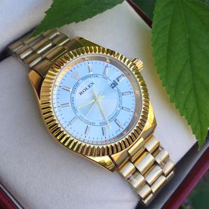 Gold Watch for Ladies