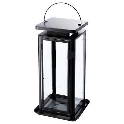 Candle holder black frame