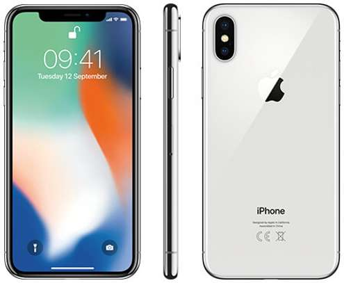 iPhone X - 256GB - 12MP - 4G LTE Network image 1