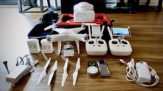 New DJI Phantom 4 Pro Remote Controller, Charger, Case