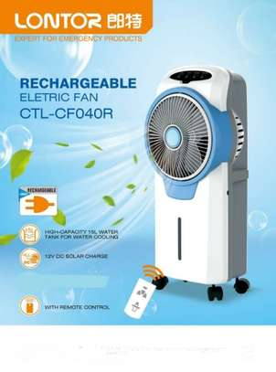 Rechargeable Electric Air Cooler Fan/AC image 1