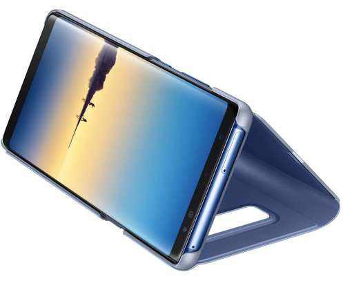 Genuine Cover | Clear View Standing Cover for Samsung Galaxy Note 8 image 2