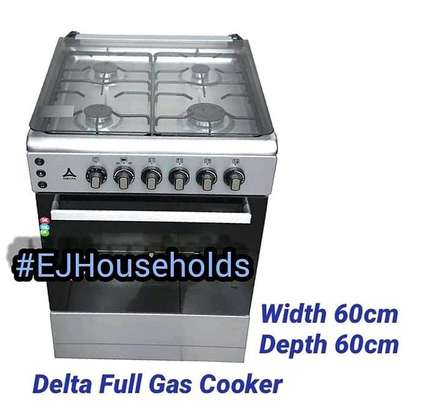 4G Plate Cookers with Gas Oven image 1