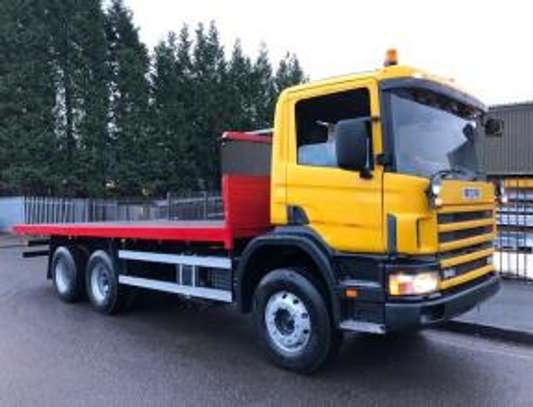 1998 Scania P94 260 6X4 FLATBED THS 91MILLION ON THE ROAD image 9