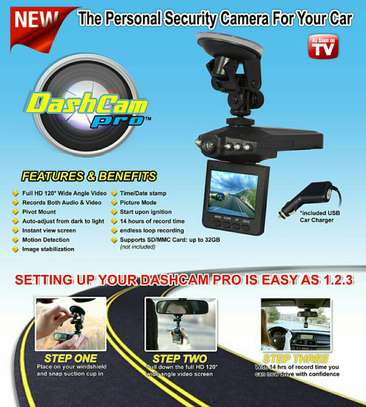 HD Car Dash Cams.
