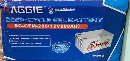Solar battery 200Ah 12V GEL image 2