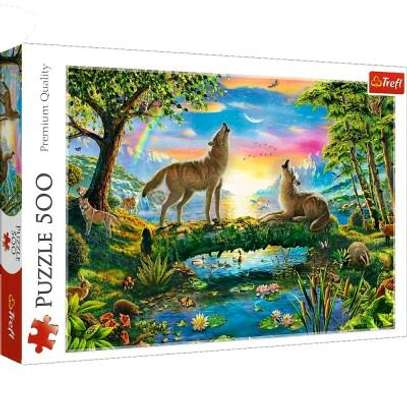 Lupine Nature Jigsaw Puzzle 500pcs