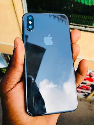 mobile iphone x 64gb very clean image 2