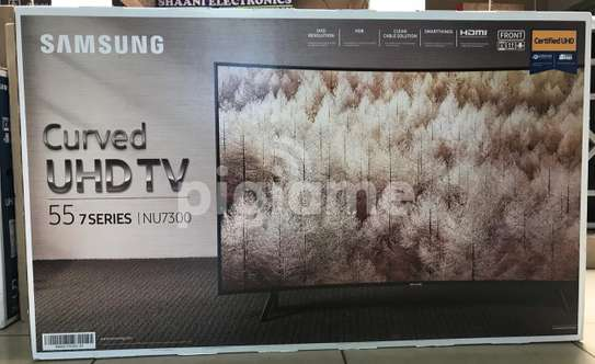 SAMSUNG SMART|CURVED TV 4K UHD TV Model-55NU7300