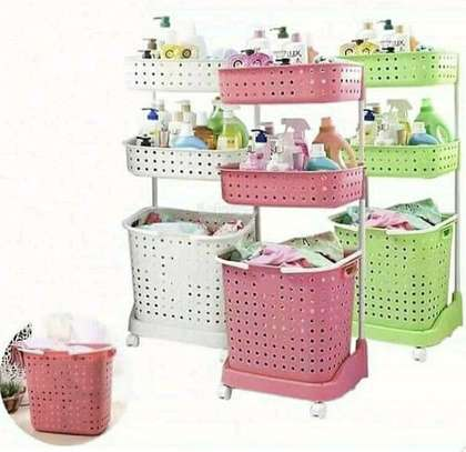 3 Tier Laundry Basket image 3
