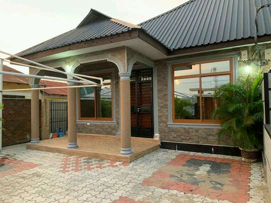 a standalone house is for rent at kunduchi