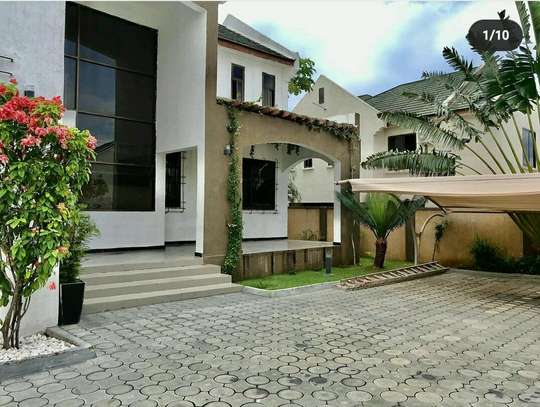 a stand alone villa, full furnished house is for rent at mbezi beach