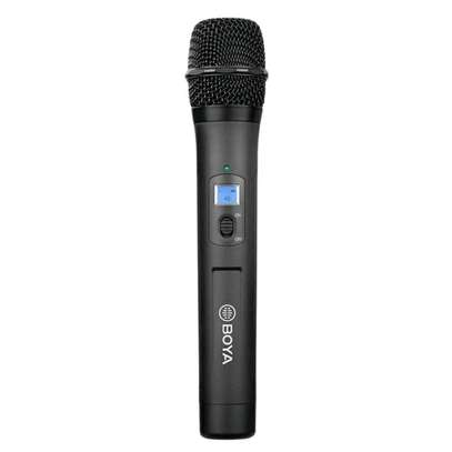 BOYA BY-WHM8 Pro Lavalier and Handheld Microphone UHF Wireless Unidirectional Dynamic Mic image 8