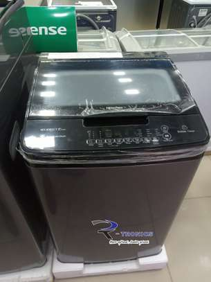 HISENSE WASHING MACHINE AUTOMATIC (8KG) image 1