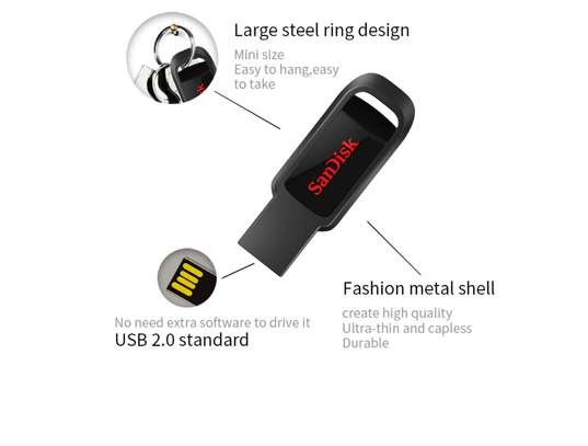 SanDisk CZ61 USB 2.0 32gb Flash Drive image 4