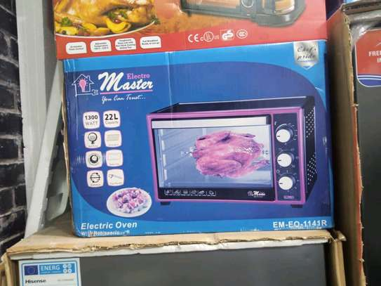 MASTER MICROWAVE OVEN image 2