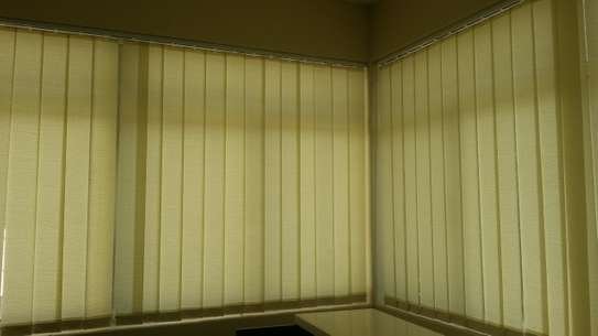 Vertical Blinds- Curtains for offices image 1
