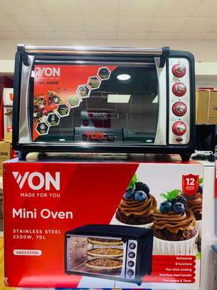 VON HO2370B Toaster Oven 70L, 2280W – Convection