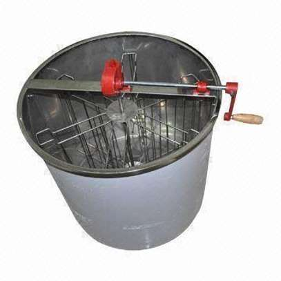 Stainless Steel 6-Frame Manual Honey Extractor, Mashine ya kukamulia asali