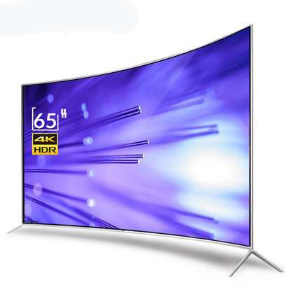 65 Inch TV Smart Curve -- Double Glass image 1