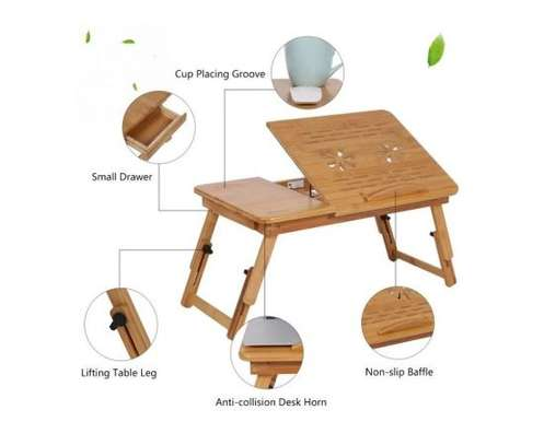 Sun Cool Wooden Laptop Table image 2