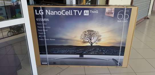 LG 65 INCH SUPER ULTRA HD 4K HDR NANO CELL DISPLAY SERIES8 2019 image 2