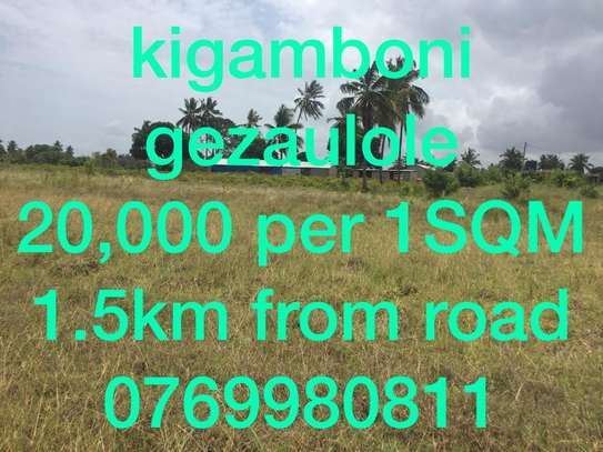 land for sale at kigamboni gezaulole image 1