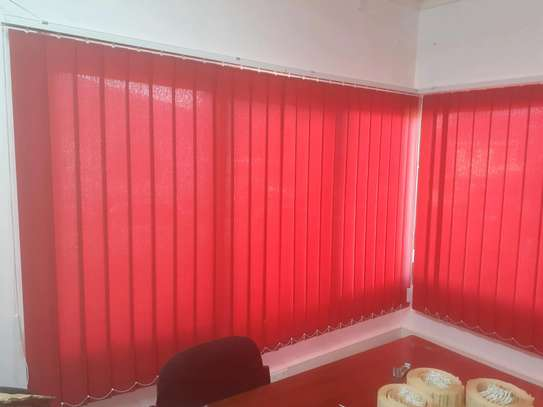 Vertical Blinds- Red image 1
