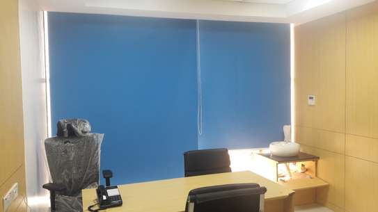 Roller Blinds- Curtains for Office image 1