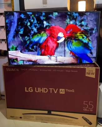 LG UHD 4K Smart Tv 55 nches image 1