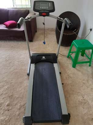 Treadmill-motorized