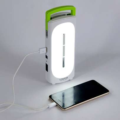 Lontor Rechargeable Emergency light With Power Bank image 1