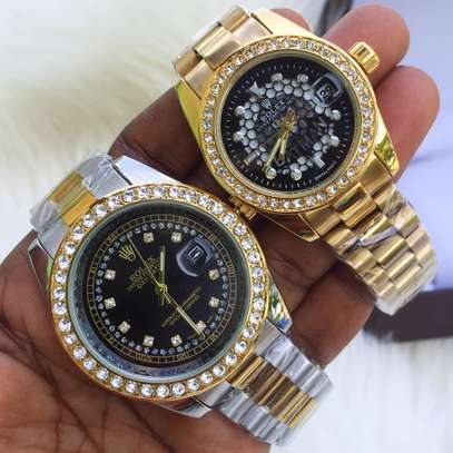 Pair of Two Gold Watches
