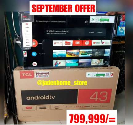TCL Android Smart TV 43 Inches image 1