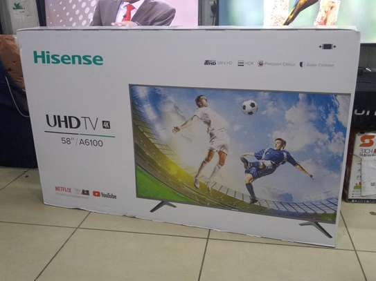 HISENSE ANDROID SMART 4K UHD TV 58 INCH image 1