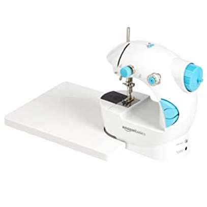 Mini Household 1 Stitch Sewing Machine with 2 Speed Function & Extension Table image 3