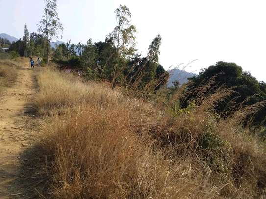 Land for sale at Morogoro on top of Mountain 360° view of water falls/town/Mindu dam/mountains image 2