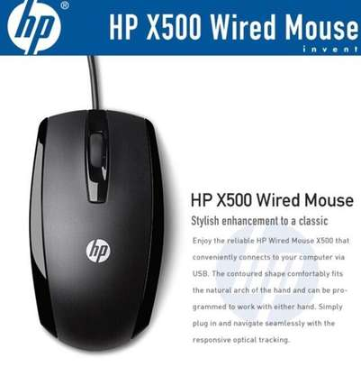 Hp x500 usb mouse image 2