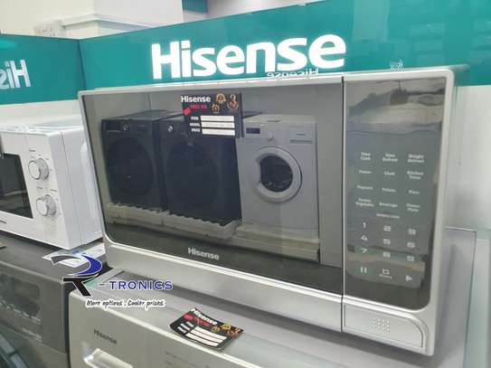 Hisense Electronic Microwave, Silver  30 Litres image 1