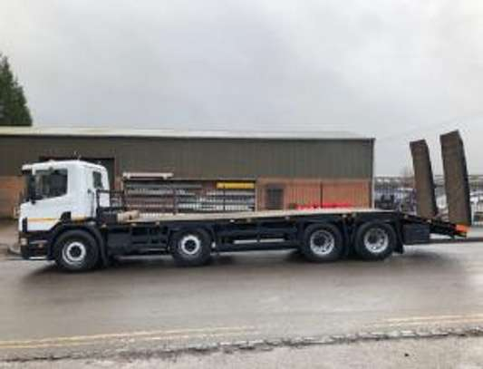 2000 Scania 114 340 8X2 FLATBED  TSHS92MILLION ON THE ROAD image 2