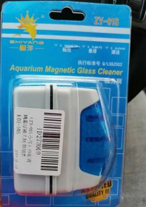 Aquarium Algae Cleaner Magnetic brush image 2