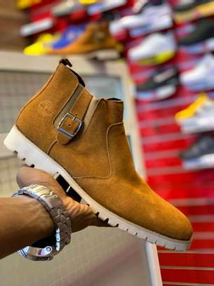 Timberland leather boot image 1