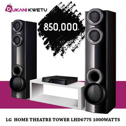 LG Music LHD6775 DVD Home Theater System - 1000Watts