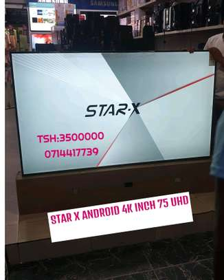 STAR X UHD 4K ANDROID TV INCH 75 INCLUDED SOUND BAR FULL image 3