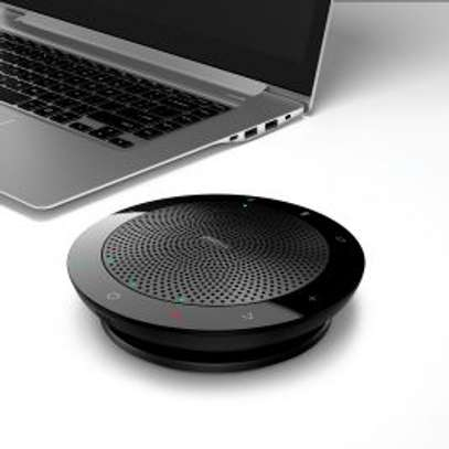 Jabra Speak 510 Wireless Bluetooth Speaker for Softphone and Mobile Phone – Easy Setup, Portable Speaker for Holding Meetings Anywhere with Outstanding Sound Quality image 1