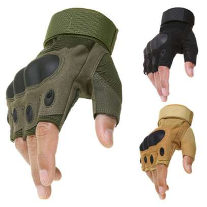 Outdoor Motorcycle Hard Knuckle Gloves Motorbike Motocross Military Tactical Cycling Gloves image 1