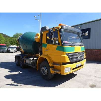 2007 Mercedes-Benz AXOR 2633 6X4 CONCRETE MIXER
