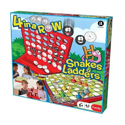 Snakes & Ladder / Connect 4