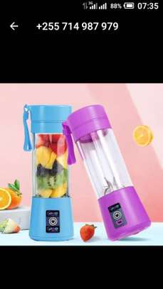 Portable and rechargeable battery juice blender image 6