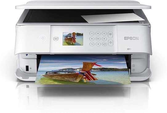 Epson Expression Premium XP-6105 Print/Scan/Copy Wi-Fi Printer, White